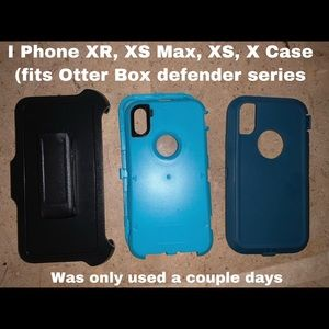 OtterBox iPhone Defender Series Case and Clip